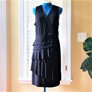 EUC - NY&C Sleeveless Tiered Ruffle Dress
